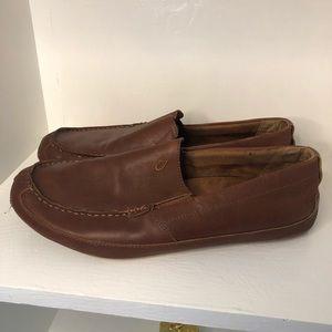 OluKai Shoes - Men's Olukai Akepa Moc Leather Shoes